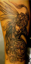 AZTEC GIRL tattoo