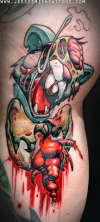 ZOMBIE SQUIRREL tattoo