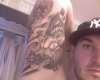 back of arm tattoo