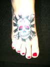 Skully tattoo