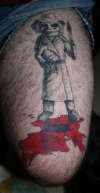 blade from puppet master tattoo