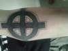 My celtic cross tat tattoo