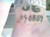 birthdate tattoo
