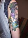 gypsey tattoo by gary stanley *2 (rose) tattoo