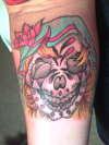 ms bride tattoo