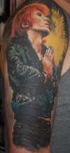 David Bowie tattoo
