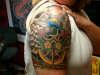 Finished! Nautical 1/2 sleeve. tattoo