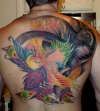 Pheonix cover tattoo