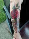 Skull/Rose tattoo