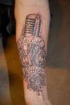 Vita Est Musica tattoo
