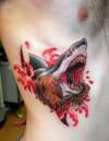 bearshark tattoo