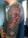 Koi cover up... tattoo