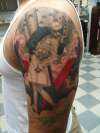 WWII Victory day memorial tattoo