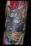 Egyptian Sleeve - Bast tattoo