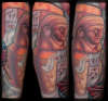 Egyptian Sleeve - Canopic Jar tattoo