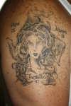 Madusa/Trinacria tattoo
