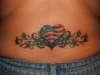 Patriotic Heart tattoo