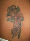 Peach Flowers II tattoo