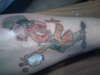 The Mad Hatter tattoo