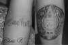 Aztec Calender tattoo