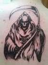 Grim Reaper. tattoo