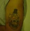 Jack Daniels Whiskey Tattoo tattoo
