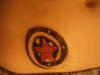 swirling star tattoo