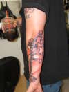My hubbys tat tattoo