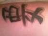 kanji 2 tattoo