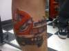 Ecto 1 tattoo
