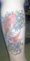 Koihealed tattoo