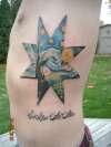 Sic Itur Ad Astra tattoo