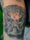 The Predator tattoo