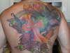 Completed Phoenix tattoo