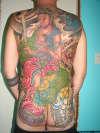 Irezumi tattoo