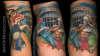Roman Soldier Stabs Gladiator tattoo
