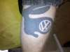 VW Rabbit Logo tattoo