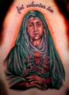 Virgin Mary By Beto Munoz of Monkeyproink.com tattoo