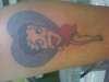 BETTY BOO tattoo