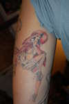 Playboy Little Red Riding Hood tattoo