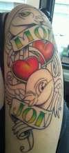 1st Sitting tattoo