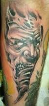 demon thing tattoo