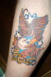 Another Eagle tattoo