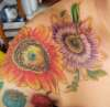 More work on my floral sleeve-passionflower tattoo