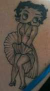 betty boop-2nd tattoo tattoo