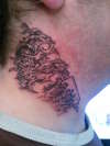 this is my  first neck tattoo i did