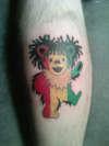rasta jer bear tattoo
