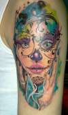 gypsy sugar skull tattoo