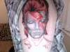 David Bowie (halfway through) tattoo