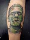 Dr Frankensteins Monster tattoo